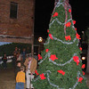 Live Oak Lights : The holiday spirit was alive at the Live Oak Lights event on Thursday, Nov. 29 at Millennium Park in downtown Live Oak. There was Christmas music along with hot chocolate and cookies. Mayor Sonny Nobles lit the tree at approximately 6:30 p.m. followed by the arrival of Santa on fire truck.